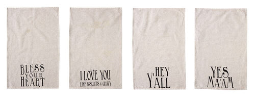 Southern Sayings Tea Towel