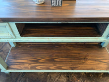 Load image into Gallery viewer, Emily Turquoise Console Table