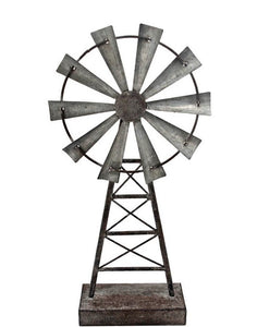 Large Windmill Table Decor