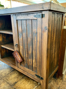 Tobacco Brown Farmhouse Buffet