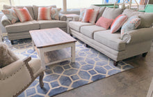 Load image into Gallery viewer, Pearce Gray Sofa and Loveseat Set