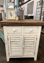 Load image into Gallery viewer, Kenzie White Accent Cabinet