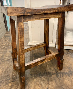 Counter Height Tobacco Brown Stools (pair of 2)