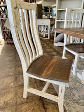 Load image into Gallery viewer, 7 piece Farmhouse Table Set