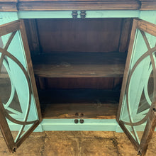 Load image into Gallery viewer, Cameo Turquoise Large Console Cabinet