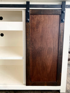 Charlotte Barn Door TV Stand