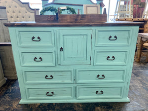 Chloe Turquoise King Bedroom Set