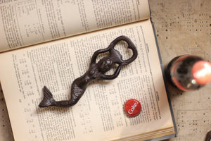 Cast Iron Mermaid Bottle Opener