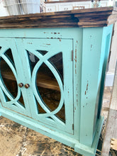Load image into Gallery viewer, Cameo Turquoise Small Cabinet