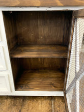 Load image into Gallery viewer, Logan White Farmhouse Cabinet