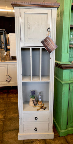 Conner Gray Narrow Storage Cabinet