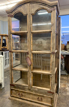Load image into Gallery viewer, Manhattan Weathered Display Cabinet