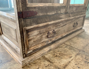 Manhattan Weathered Display Cabinet