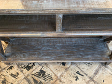 Load image into Gallery viewer, Jacquelyn Weathered Console Table