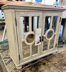 Mirror Front End Table / Cabinet