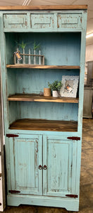 Athens Turquoise Bookcase