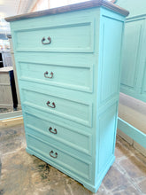 Load image into Gallery viewer, Chloe Turquoise King Bedroom Set