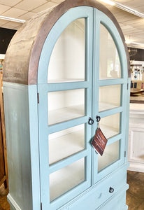 Kelly Beach Blue Display Cabinet