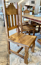 Load image into Gallery viewer, Alexandra 8 ft Light Rustic Farmhouse Dining Table Set