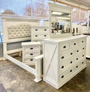 Sofia White King Bedroom Set
