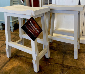 Gray Counter Height Stools (pair of 2)