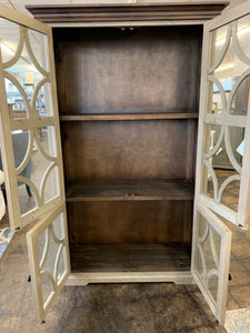 Cameo Gray Display Cabinet