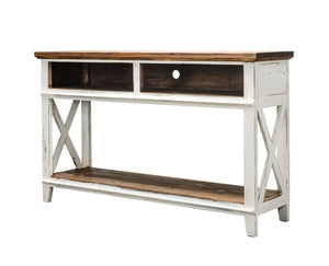 Jacquelyn White Console Table