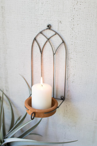 Church Window Candle Holder