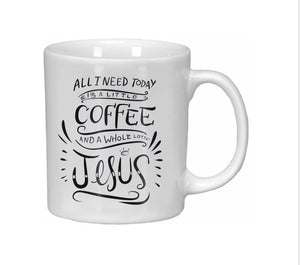 Coffee & Jesus Mug
