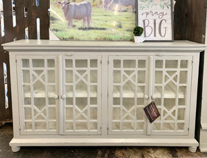 Livingston Gray Large Cabinet