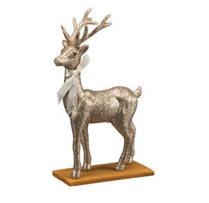 Champagne Standing Deer