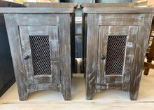 Load image into Gallery viewer, Parrish Weathered End Tables (pair of 2)