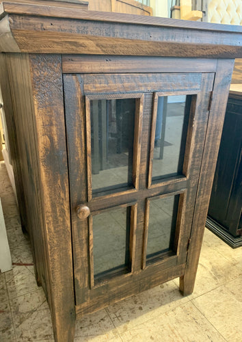 Audrey Tobacco Brown Accent Cabinet