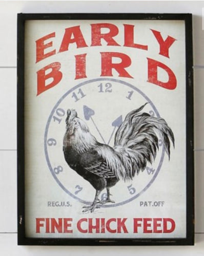 Early Bird Sign