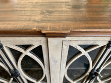 Load image into Gallery viewer, Cameo Old Gray Console Cabinet