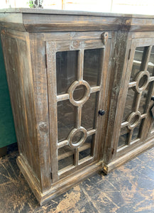 Daniel Weathered Console Cabinet