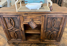 Load image into Gallery viewer, Gavin Dark Rustic Accent Cabinet