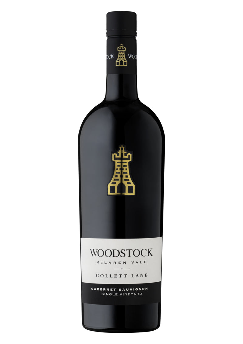 "Woodstock - Single Vineyard Cabernet Sauvignon ""Collett Lane"" - Limited Flagship Series - McLaren Vale, SA - 2015 (6/12 Packs)"
