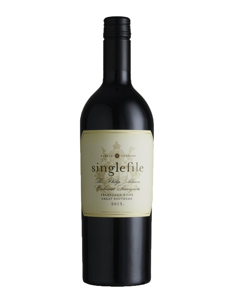 "Singlefile - ""The Philip Adrian"" Cabernet Sauvignon - Great Southern, WA 2013"