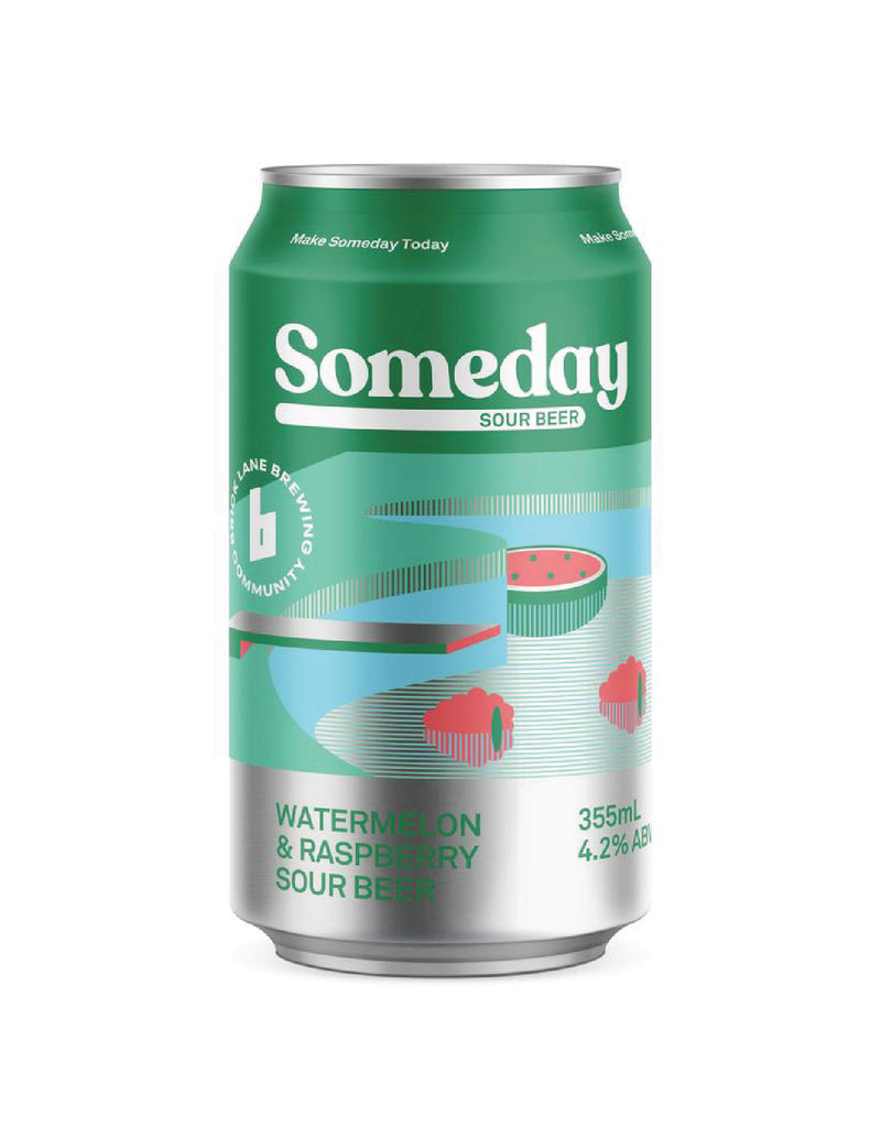 "4 Pack - Brick Lane ""Someday Sour"" Raspberry & Watermelon"
