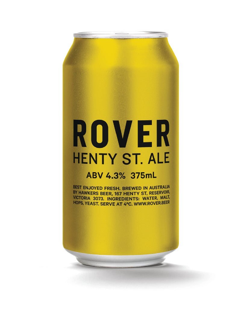 "Hawkers ""Henty St"" Pale Ale"