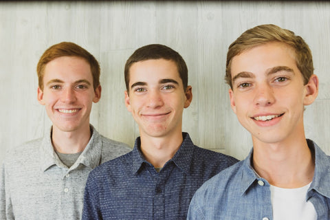 CNZ Cofounders - Nathan, Caleb, and Zachary