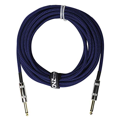 Woven Black Blue Series | Instrument Cables