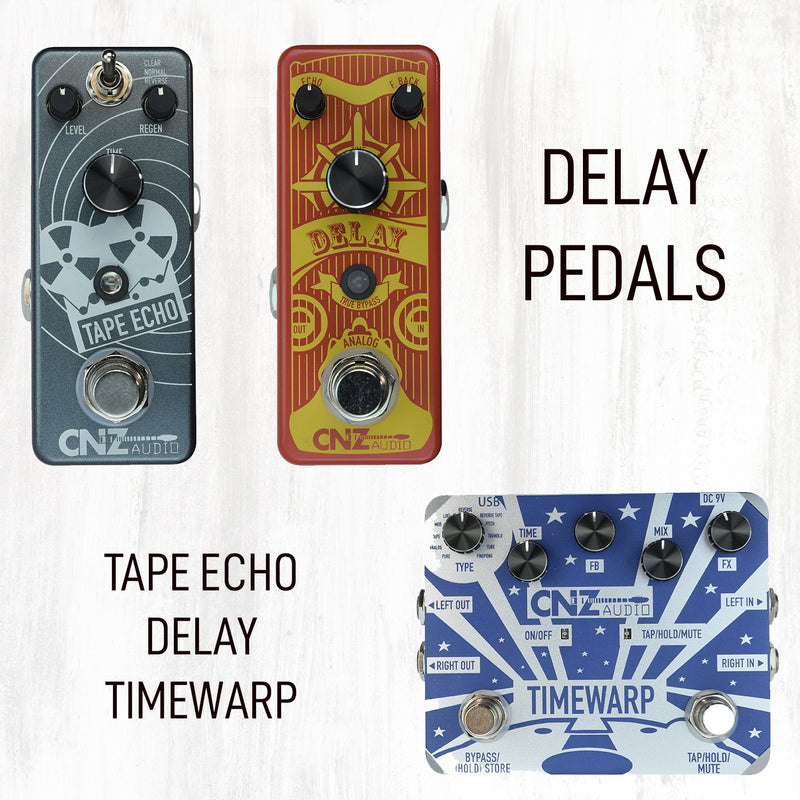 STW-50 | Time Warp Delay Pedal