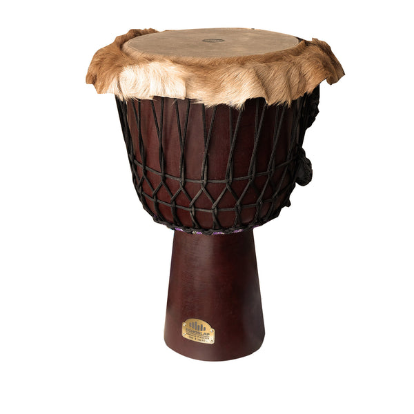 "12"" Original Series African Djembe Drum - Goat Hair Trim"