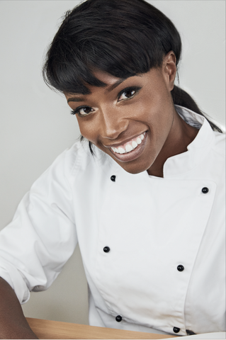 Lorraine Pascale, culinary author and tv host interview with lucas hugh