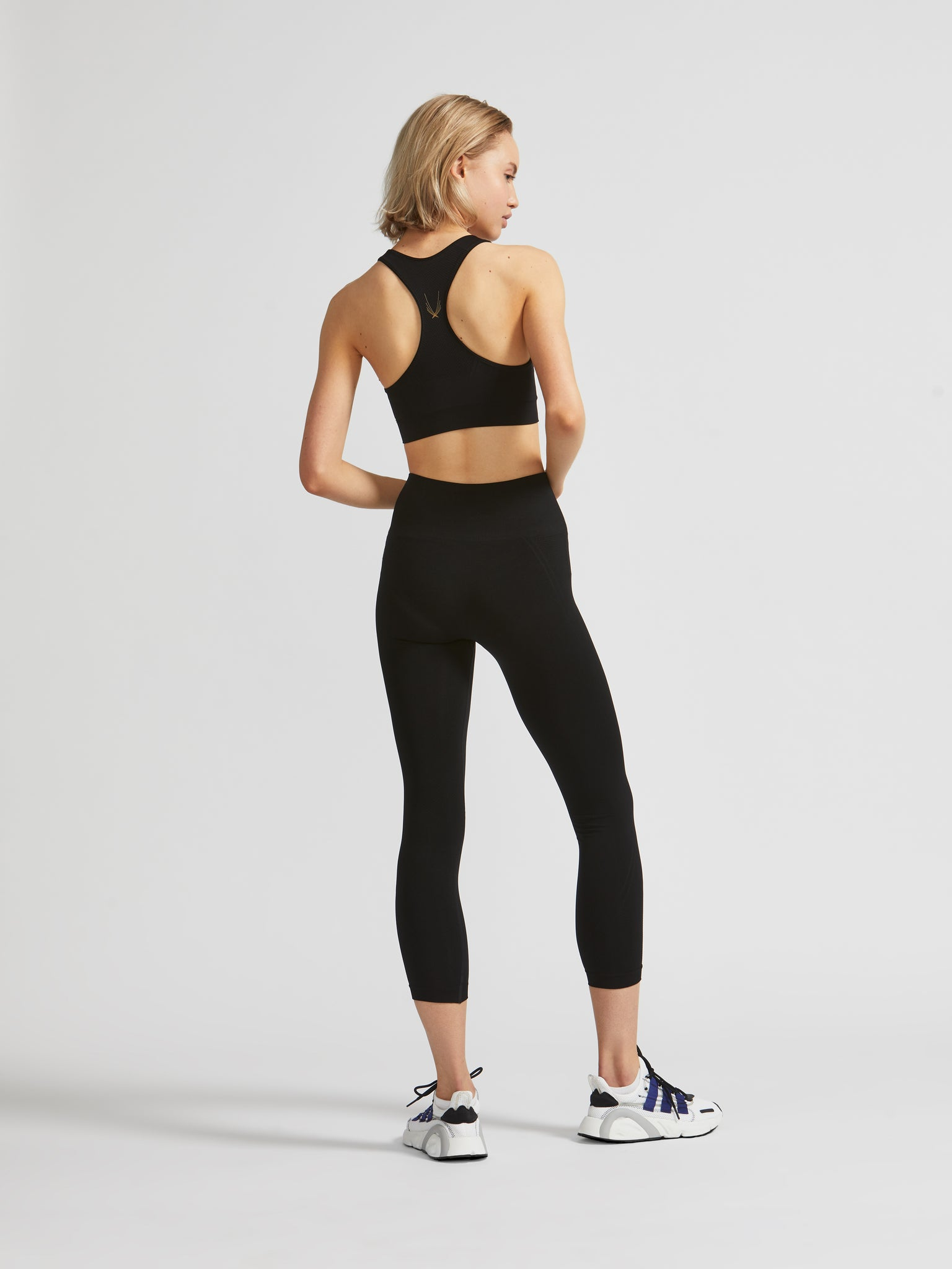 Tech Knit Racer Back Sports Bra