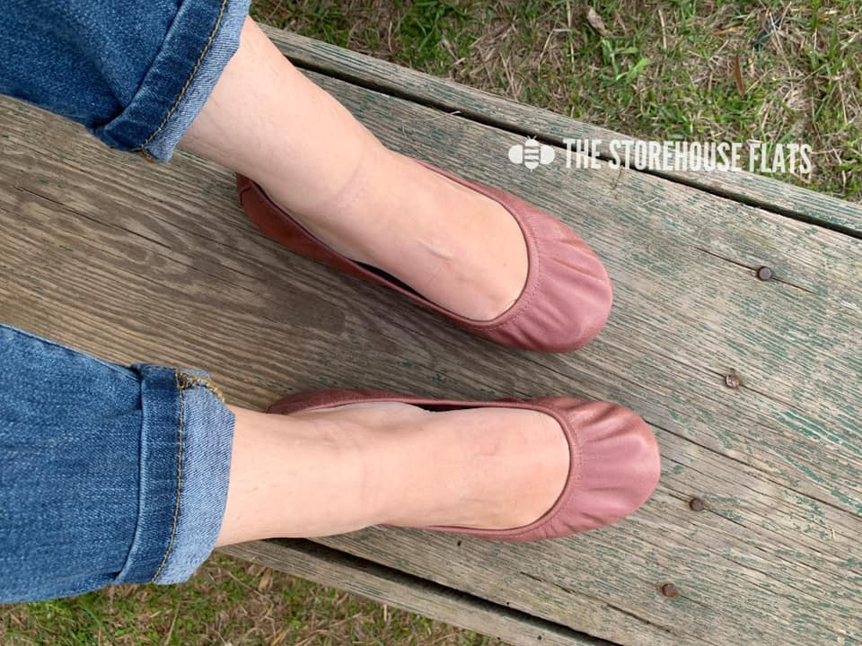 The Storehouse Flats Special Edition: Mauve Oil Tanned