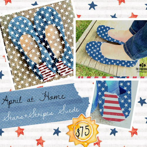 The Storehouse Flats Special Edition: Stars & Stripes Suede