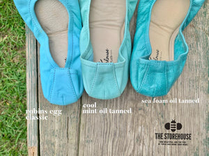 The Storehouse Flats Special Edition: Cool Mint Oil Tanned (Pre-Order)